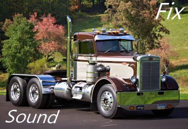 Sound fix for Peterbilt 281-351 mTG v1.0