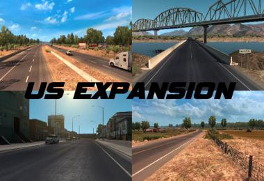 US Expansion v2.7 - Sierra Nevada compatible