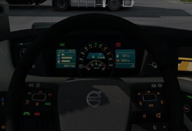 Volvo FH16 2012 Dashboard Colors v1.0