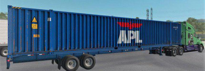 ATS 53ft Container Cargo pack for Owned Gooseneck 1.38