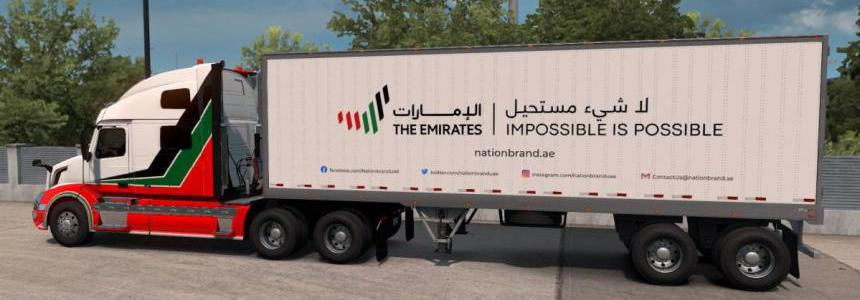 [ATS] The Emirates Trailer Pack v1.0 1.38.x