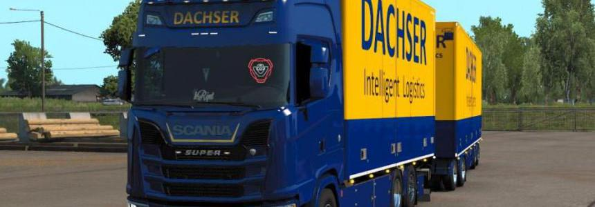 DACHSER Tandem skin for Scania S by Eugene and Kast v1.0