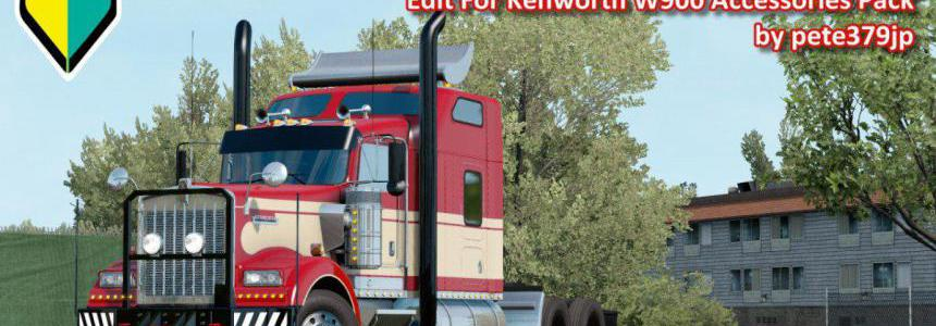 Edit For Kenworth W900 Accessories Pack v1.2