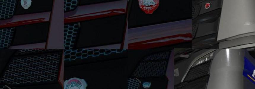 Front Badge for Scania RS NextGen v1.0