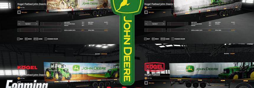 JOHN DEERE KOGEL PACK TRAILERS v1.0.0.0