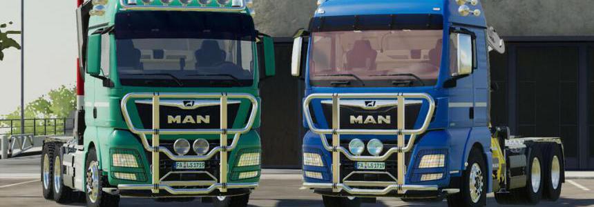 MAN TGX Forest Semitrailer Pack v1.1.0.1