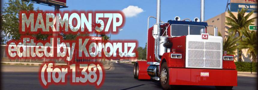 Marmon 57P edited by Kororuz v0.99 1.38