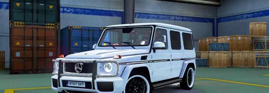Mercedes BENZ G CLASS 1.38
