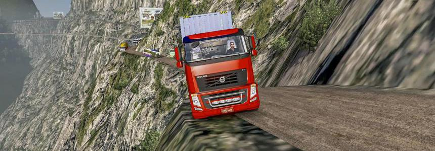 ROTAS JOSIMAR MAP MOD [Extreme and Dangerous Roads Map] 1.38