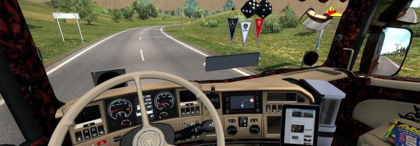 Scania Custom Interior 1.38