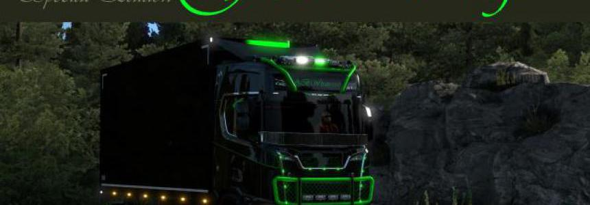Scania S GREEN DRAGON v1.0