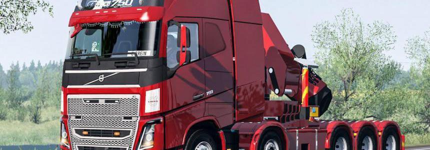 Volvo FH16 2012 Mega Mod by RPIE v1.38.1.3sr1
