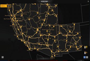 100% Explored Roads (ATS) 1.38