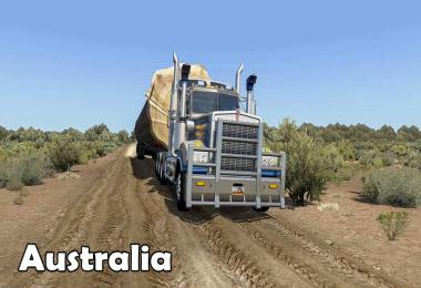 Australia Outback Map Mod by Rob Viguurs ATS 1.38