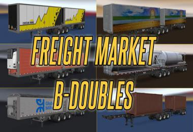 B-Double Trailers in Freight Market v1.0
