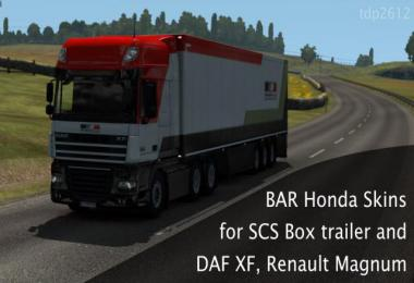 BAR Honda F1 Replica Skins 1.38