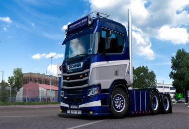 Changeable metallic skin for Scania R v1.0