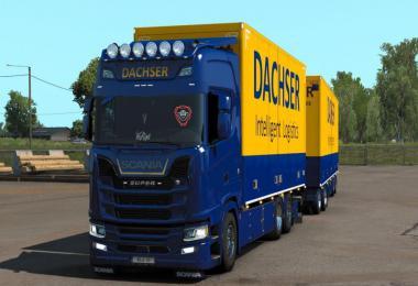 DACHSER Tandem skin for Scania S by Eugene and Kast v1.0