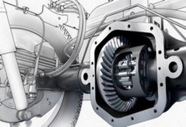 E-F RTLO-xx913/18 Gearboxes + Diffs ADDON 1.38