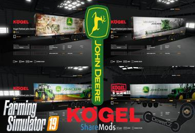 JOHN DEERE KOGEL PACK TRAILERS v1.0.0.0