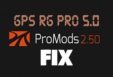GPS RG PRO Promods FIX v5.0