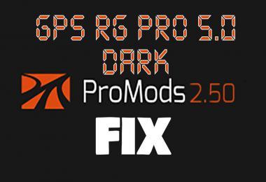 GPS RG PRO DARK Promods FIX v5.0