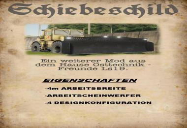 K700 Eigenbau Schiebeschild v1.0