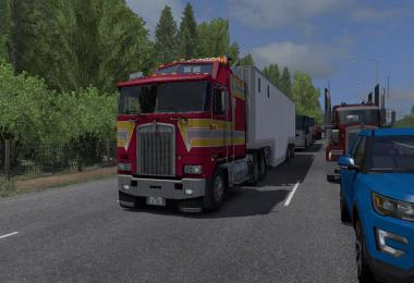 Kenworth K100-E by overfloater v1.2 ATS 1.38.x