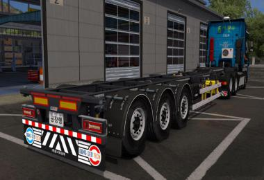 Korean container trailer v1.0 1.38