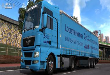 Lang Logistik MAN TGX Combo 1.38