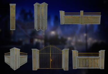Luxury Fence Pack v1.0.0.0