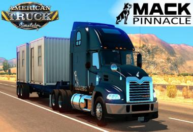 Mack Pinnacle updated to 1.38