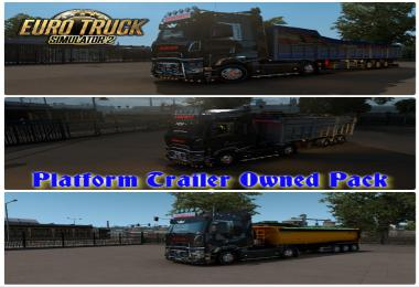 Platform Trailer Owned Pack 1.38