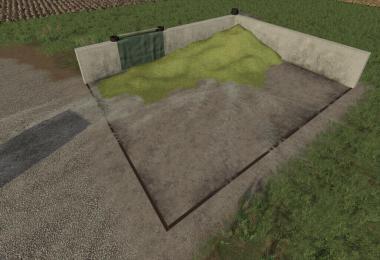 Small Bunker Silo Set v1.2.0.0