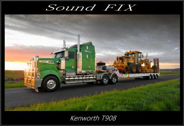 Sound fix for Kenworth T908 v1.1