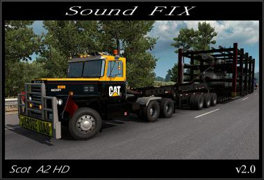 Sound fix for Scot A2HD v2.0