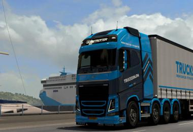 TSFM Volvo FH 2012 + Tuning Pack Skin 1.38