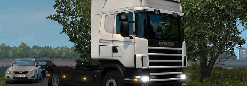 Scania T4 series addon for RJL Scania v2.3.0 1.39.x