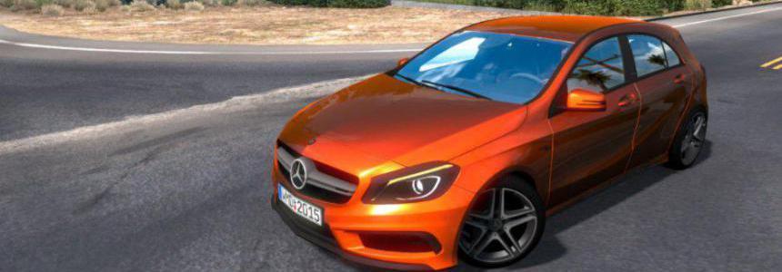 Mercedes Benz A45 v1.0 -upgrade- 1.38.x