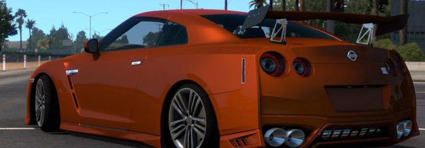 [ATS] Nissan GTR R35 v2.1 - Upgrade - 1.38.x