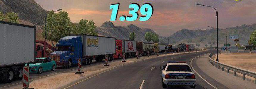 ATS Real Traffic Density by Cip 1.39.a