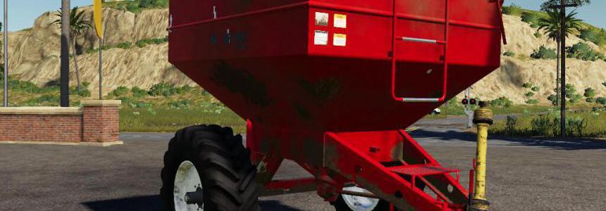 Bulk Carrier Agricultural Trailer IB AR 100 v1.0.0.0