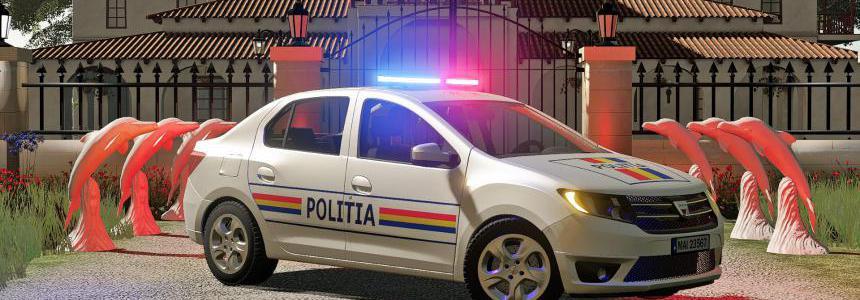 Dacia Logan Politia 2019 v1.0