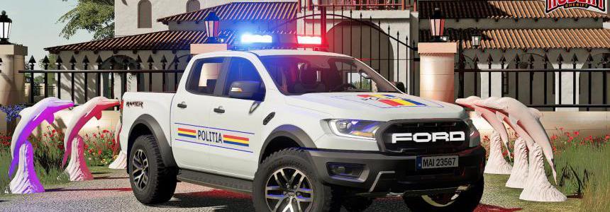 Ford Ranger Politia v1.0