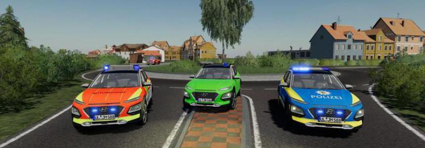 Hyundai Kona police and ambulance v1.0.0.0
