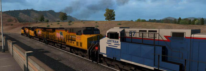 Improved Trains v3.6 for ATS 1.39.0.78s beta