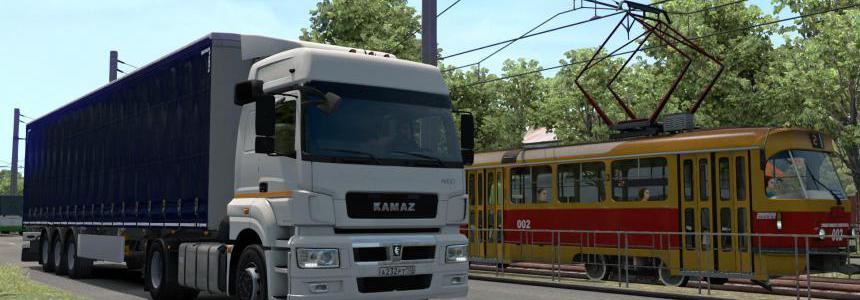 Kamaz 5490 Neo and 65206 + Full set of ETS2 1.39.x Beta