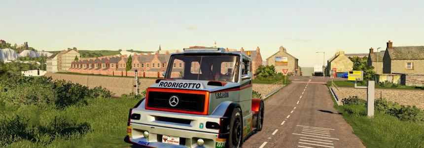 Mercedes Benz Formula Truck v1.0