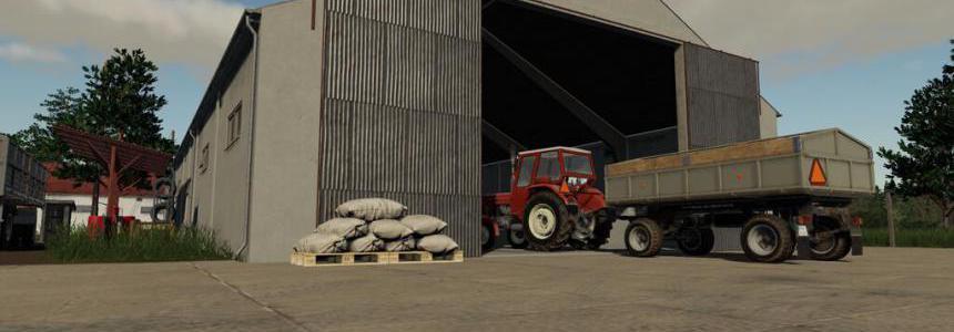 Old Grain Storages Pack v1.0.0.0