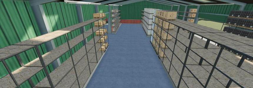 Pallets High Shelf Storage v1.0.0.1